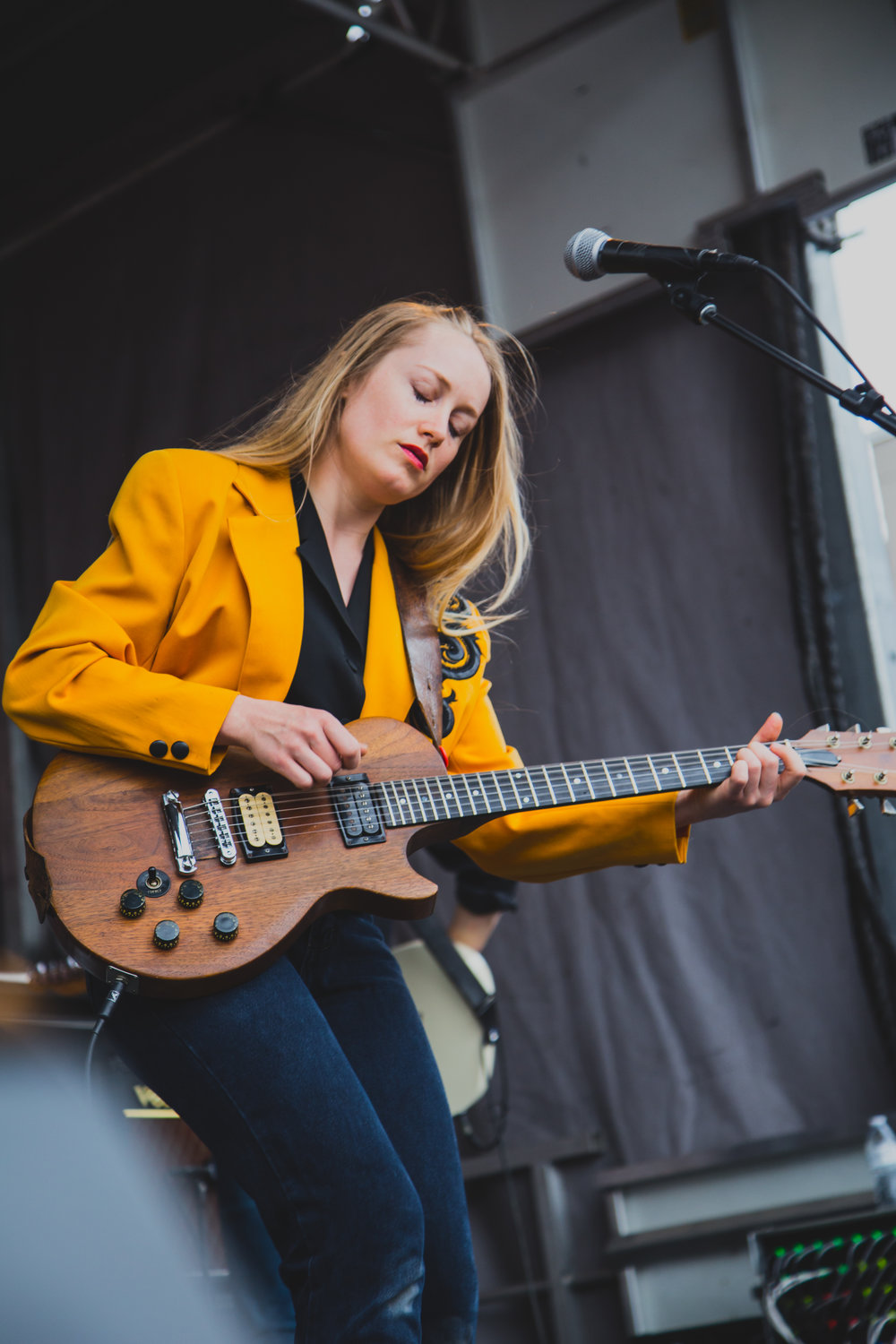 The Weather Station performing at the Waterloo day party on 03.15.2018