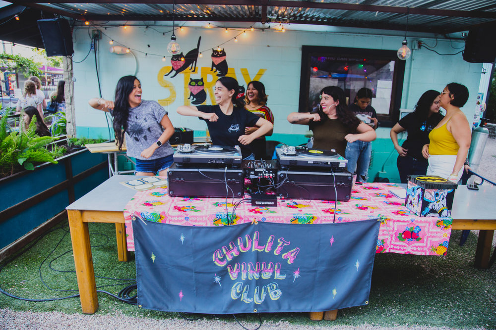 APRIL 2017 MEET-UP - There were so many epic performance at this meet-up and I finally got to see Chulita Vinyl Club DJ. The Sass N Struts dance team also put on a crazy, memorable performance.