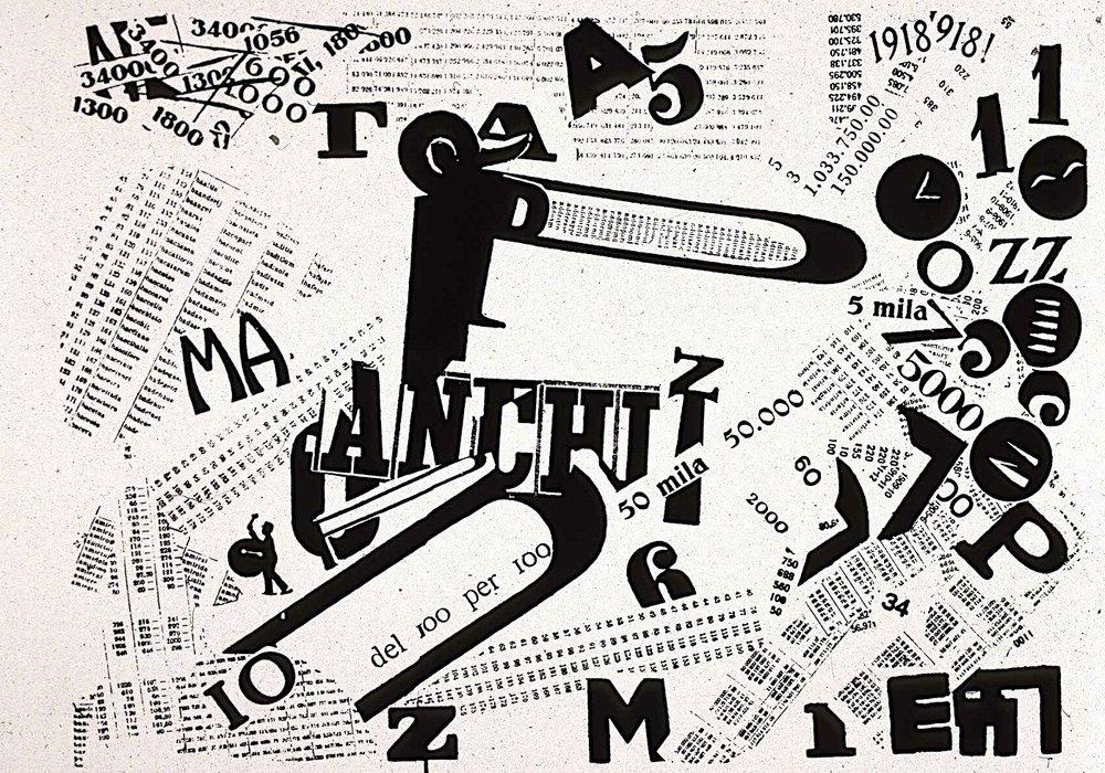 Words and Freedom - 1914, Filippo Marinetti