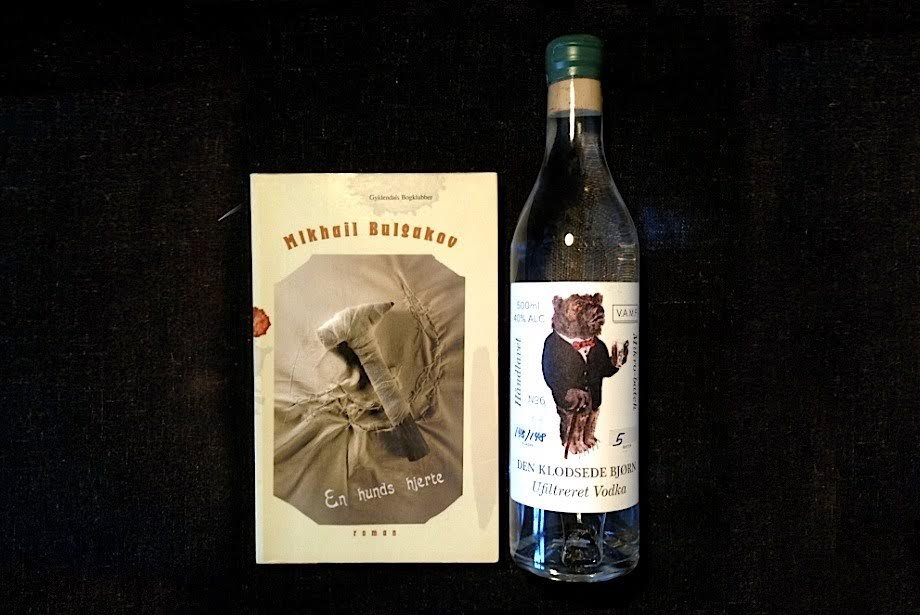 The Clumsy Bear and A Hounds Heart by Mikhail Bulgakov. A great introduction to real Russian drinking culture.