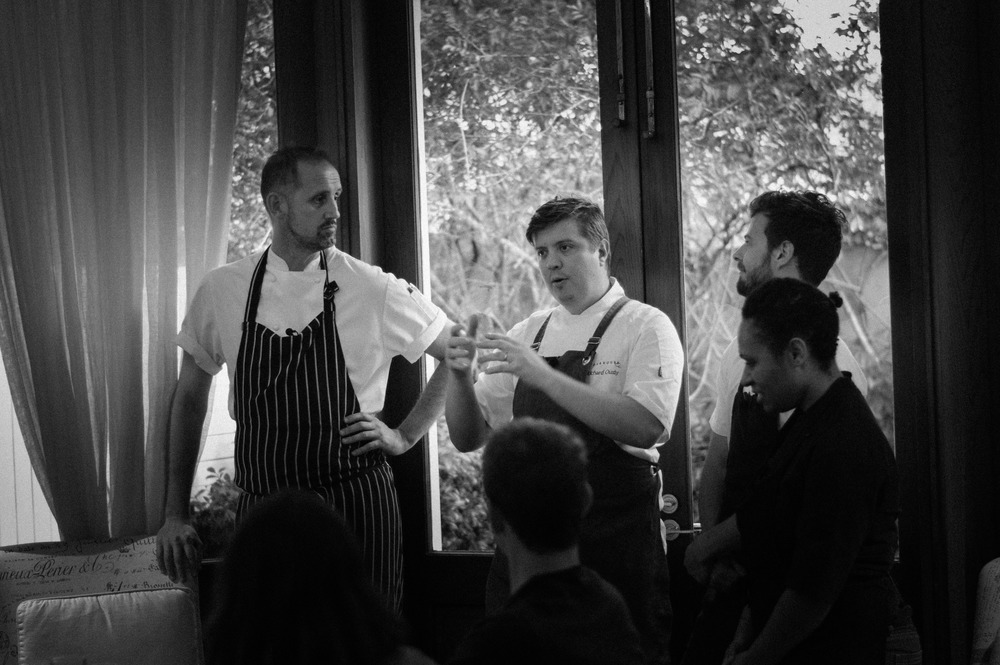 Cam Matthews of The Long Apron, Richard Dousby of Stokehouse City and Josh Raine of Urbane