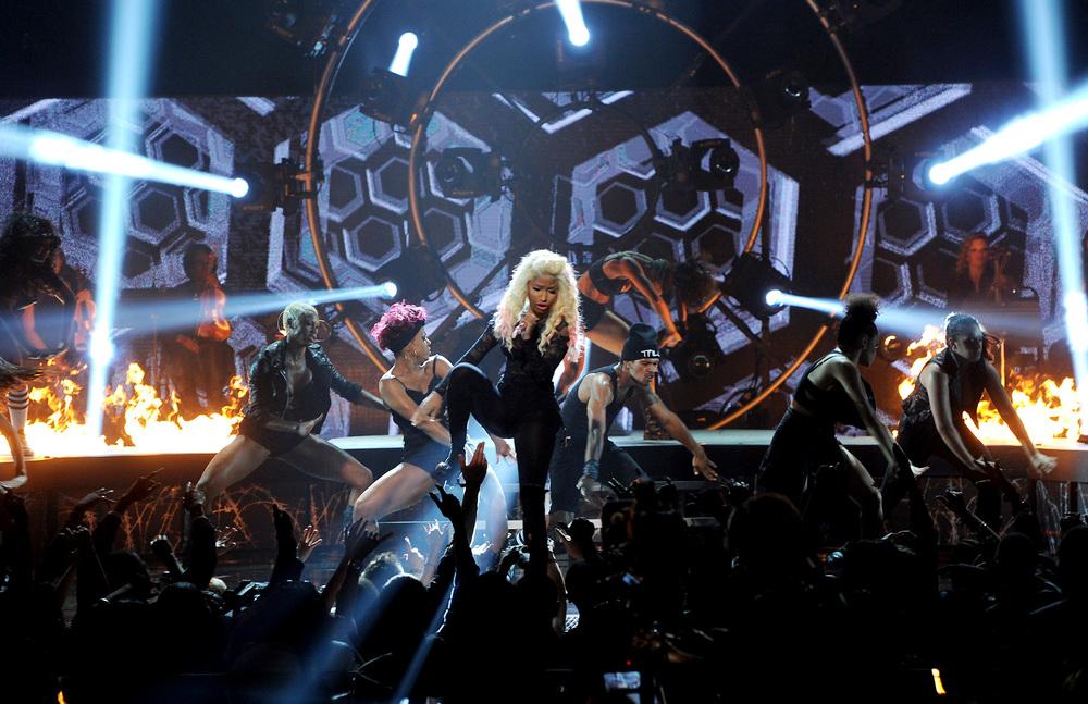 2012 BET Awards with Nicki Minaj and 2Chainz