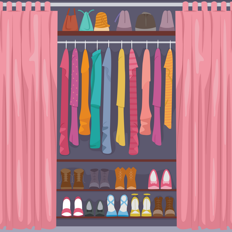 Closet revamp and style finder package