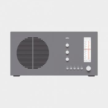 RT 20 tischsuper radio, 1961, by Dieter Rams for Braun [CC BY-NC-ND 3.0] via Vitsœ.
