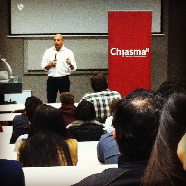 Salim Ismail! #chiasmainnovate