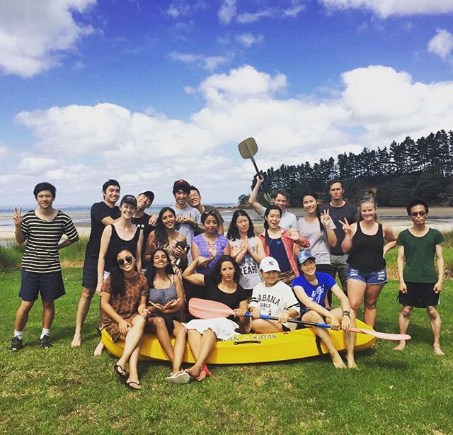 The team bonded in the beautiful weather. Ready to rock the new year! #chiasmanz #bonding