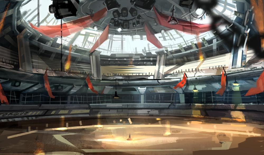 Borderlands 2: Mr. Torgue's Campaign of Carnage / Coliseum interior