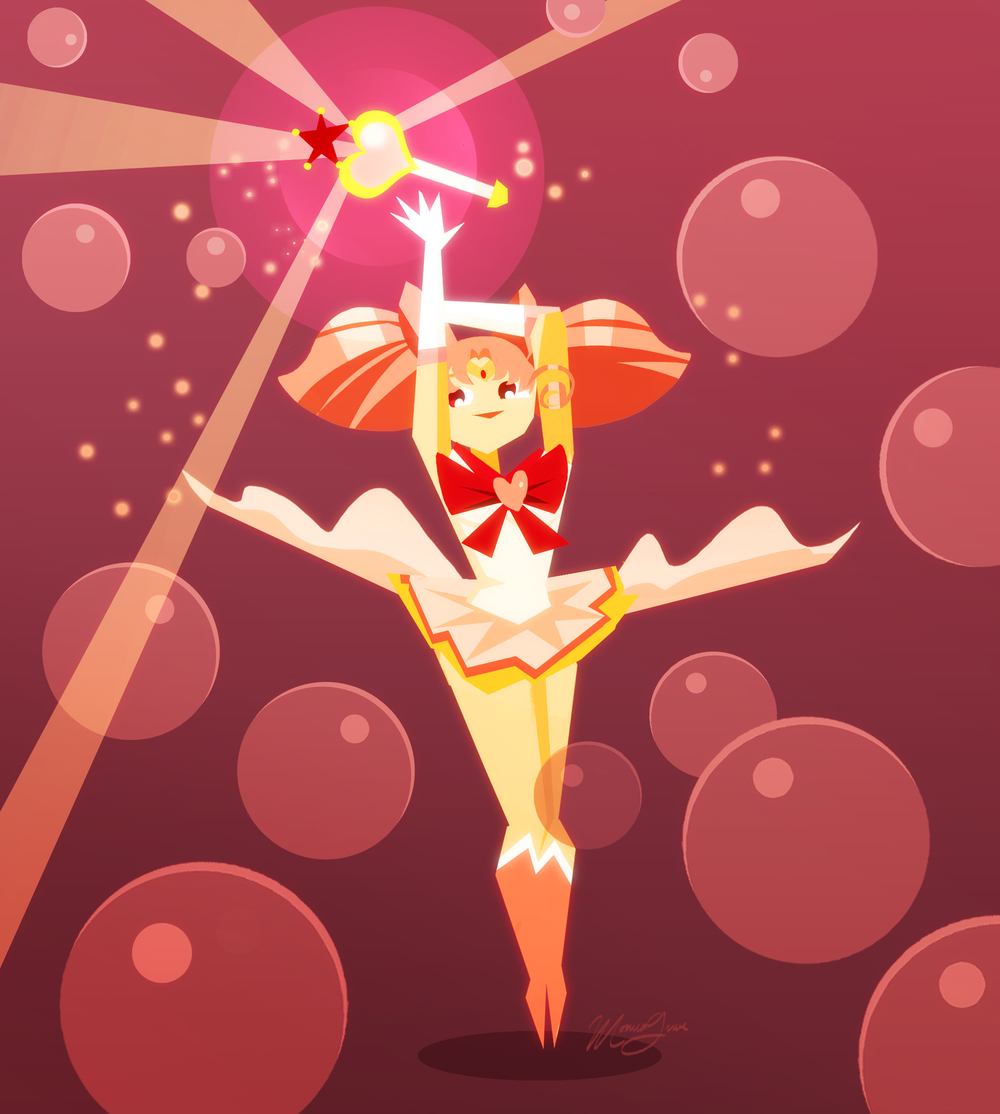 Pink Sugar Heart Attack! / Sailor Chibi Moon