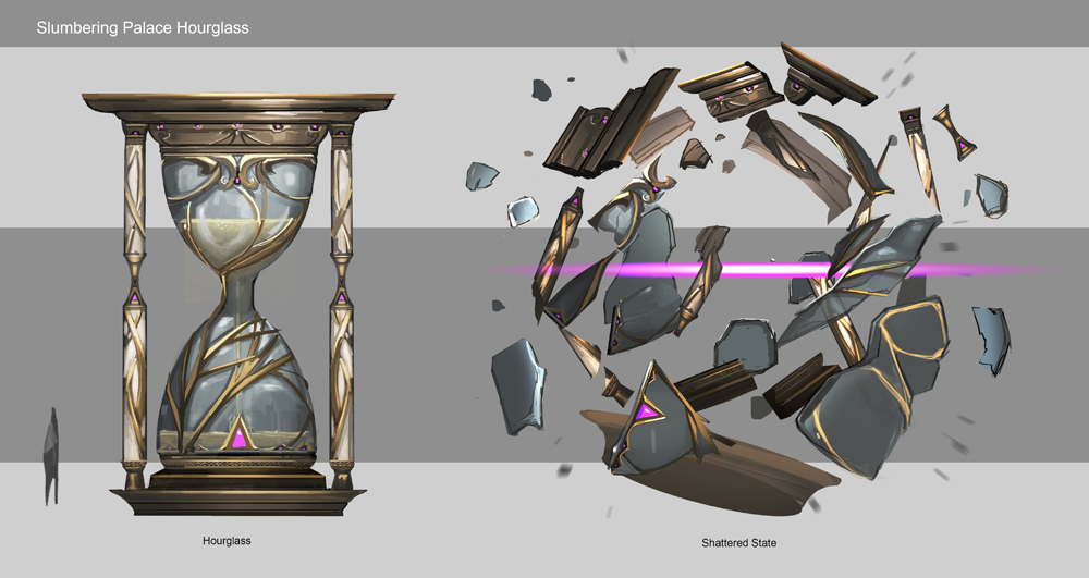 Slumbering Palace Hourglass / Sorcery (2012)