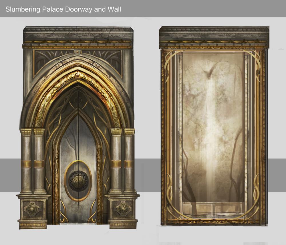 Sorcery / Slumbering Palace door