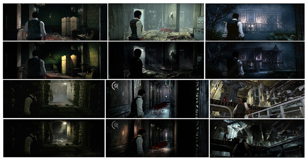 Before and After: Evil Within level lighting paintovers