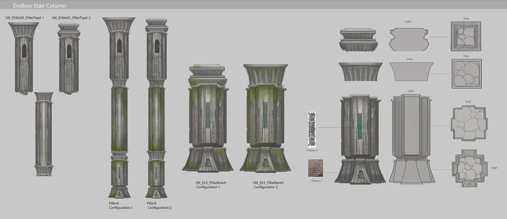 Sorcery - Endless Stair columns