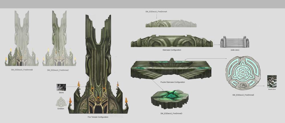 Sorcery - Fire Shrine (break outs)