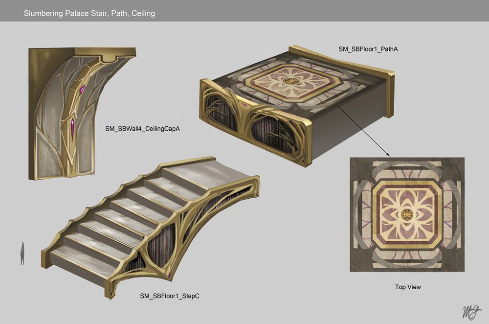 Sorcery - Slumbering Palace ramps