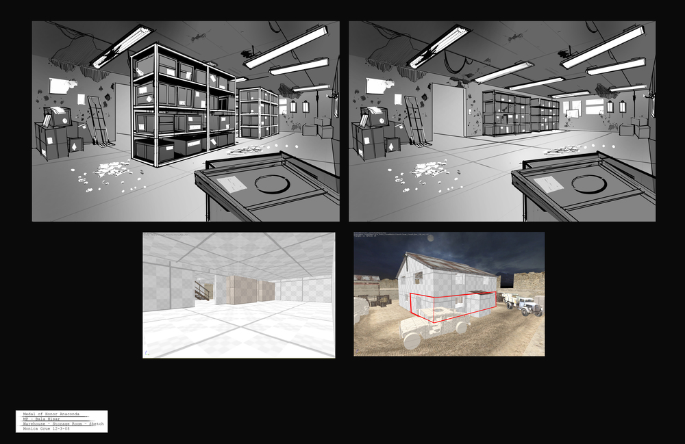 Medal of Honor - Bala Hisar storage room