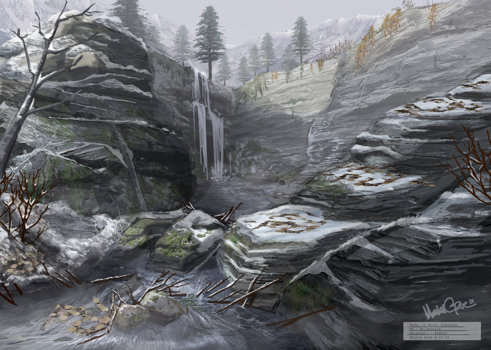 Medal of Honor - Waterfall concept