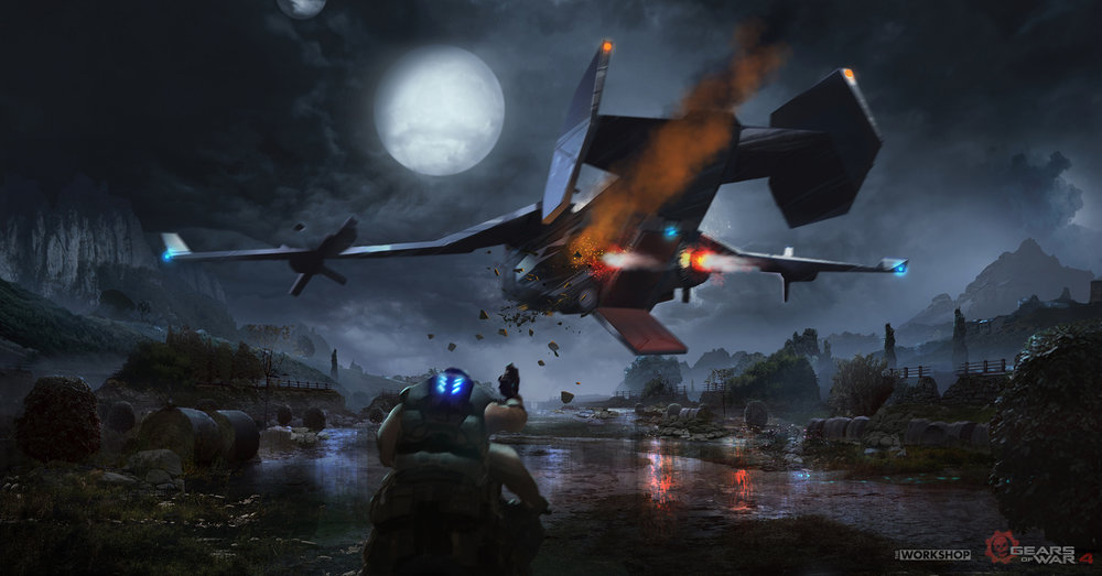 Gears of War - The Great Escape: Boss Battle