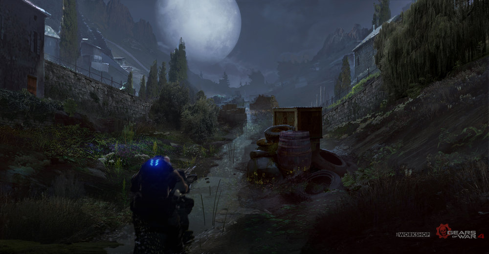Gears of War 4 - The Great Escape: Irrigation Ditch