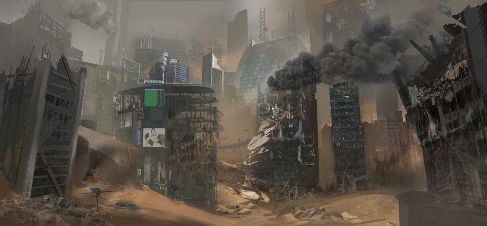 Archangel (VR) - City Forest
