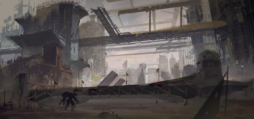 Archangel (VR) - City Riverbed