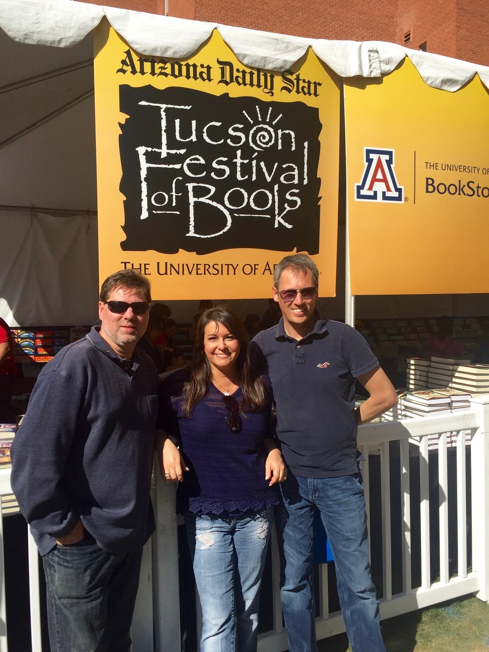 The Team at Tucson Festival of Books