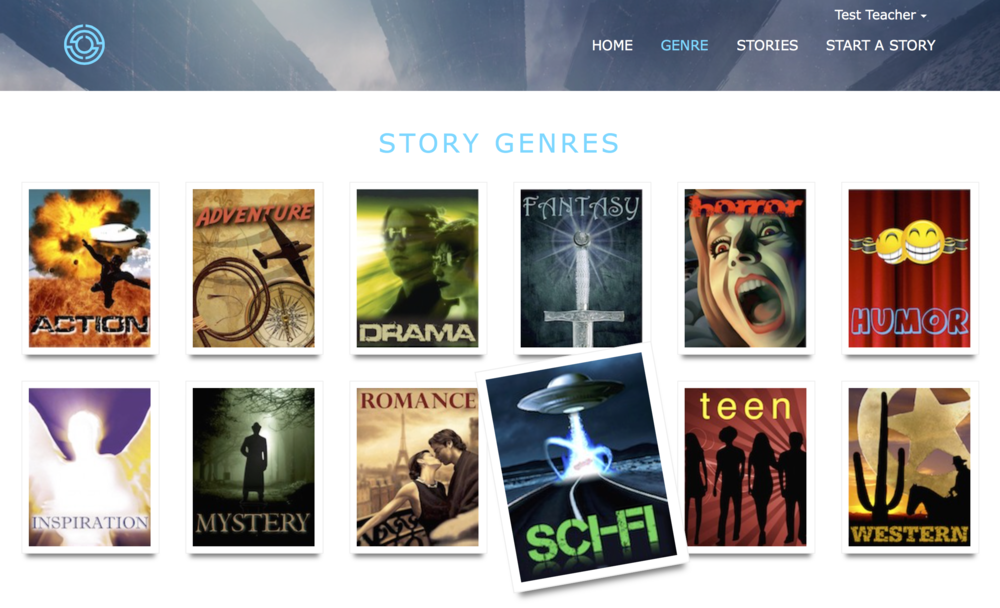 Genre Page with animated images when moused over #2.png