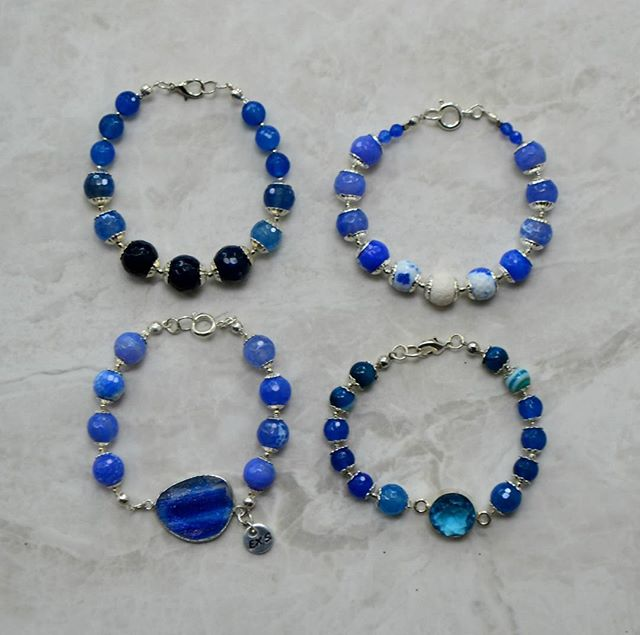 Many shades of #blue gems #bracelet in different styles available on our bracelets section at : https://www.excessjewellery.com/shop/?category=Bracelet  #jewelry #jewels #toptags #jewel #fashion #gems #jewellery #gemstone #bling #pendant #like4like  #trendy #accessories #jewelrydesign #jewellerylover #beautiful #likebackteam #styles #fancyjewelry #instajewelry #finejewelry #jewelrygram #fashionjewelry #jewelryaddict #colours #jewelrydesign