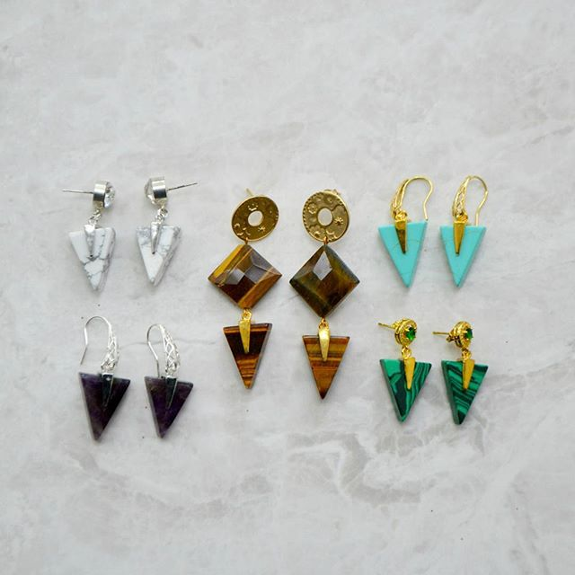 Geometric lines and gemstone fuse together in the design's on-trend graphic styling. Discover those earrings from £19.99 at : www.excessjewellery.com/shop/?category=Earrings  #jewelry #jewels #toptags #jewel #fashion #gems #jewellery #gemstone #bling #earrings #trendy #accessories #jewelrydesign #jewellerylover #beautiful #colours #style #likebackteam #fancyjewelry #instajewelry #finejewelry #cute #jewelrygram #fashionjewelry #jewelryaddict #like4like  #jewelrydesign