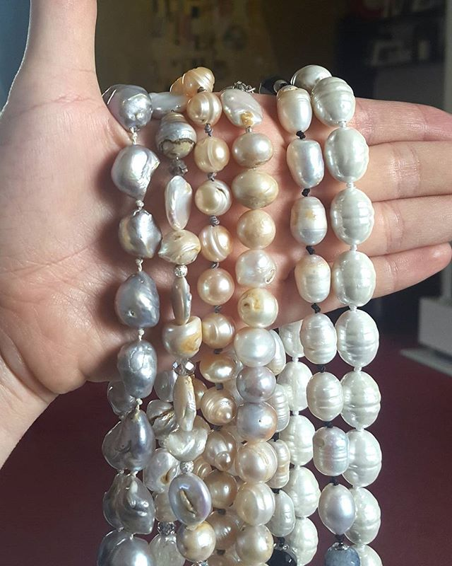 So many shades of #pearls 😍  Discover all our pearls items at : https://www.excessjewellery.com/new-page  #jewelry #jewels #toptags #jewel #fashion #gems #jewellery #gemstone #bling #likebackteam #earrings #trendy #accessories #jewelrydesign #jewellerylover #beautiful #bracelet #style #necklace #fancyjewelry #instajewelry #finejewelry #jewelrygram #fashionjewelry #jewelryaddict #like4like #jewelrydesign
