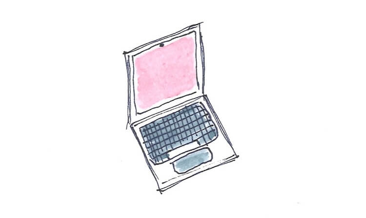 Illustration Laptop