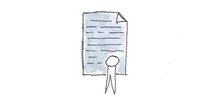 Gezeichnete Urkunde