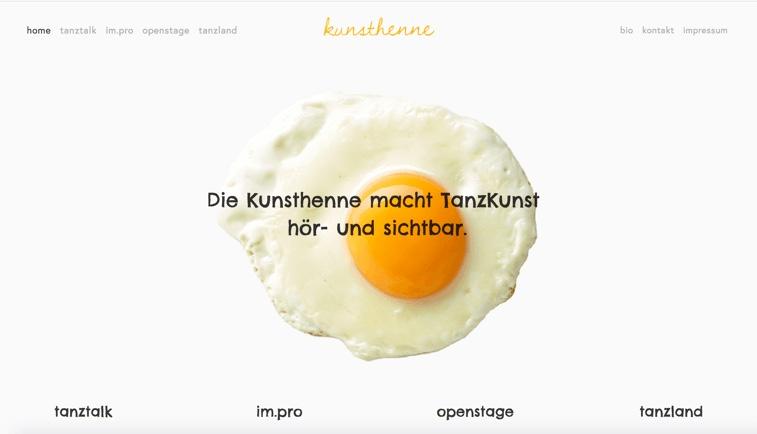 Website-Konzept und Content-Strategie für die neue Website auf Squarespace von Gerlinde Roidinger aka 'Kunsthenne'.