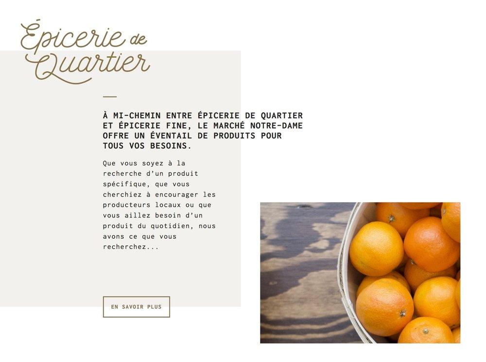 Beispiel für Raster-Bruch (Marché Notre Dame)