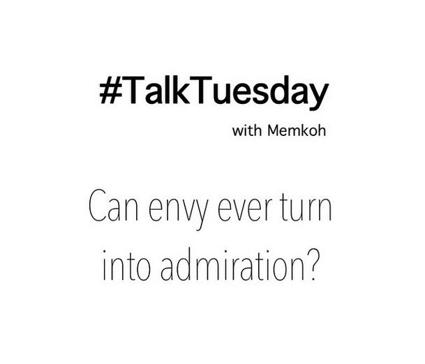 #TalkTuesday