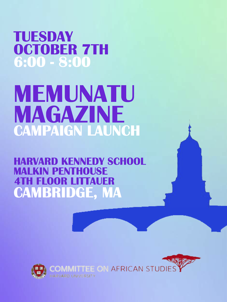 Memunatu Harvard Launch