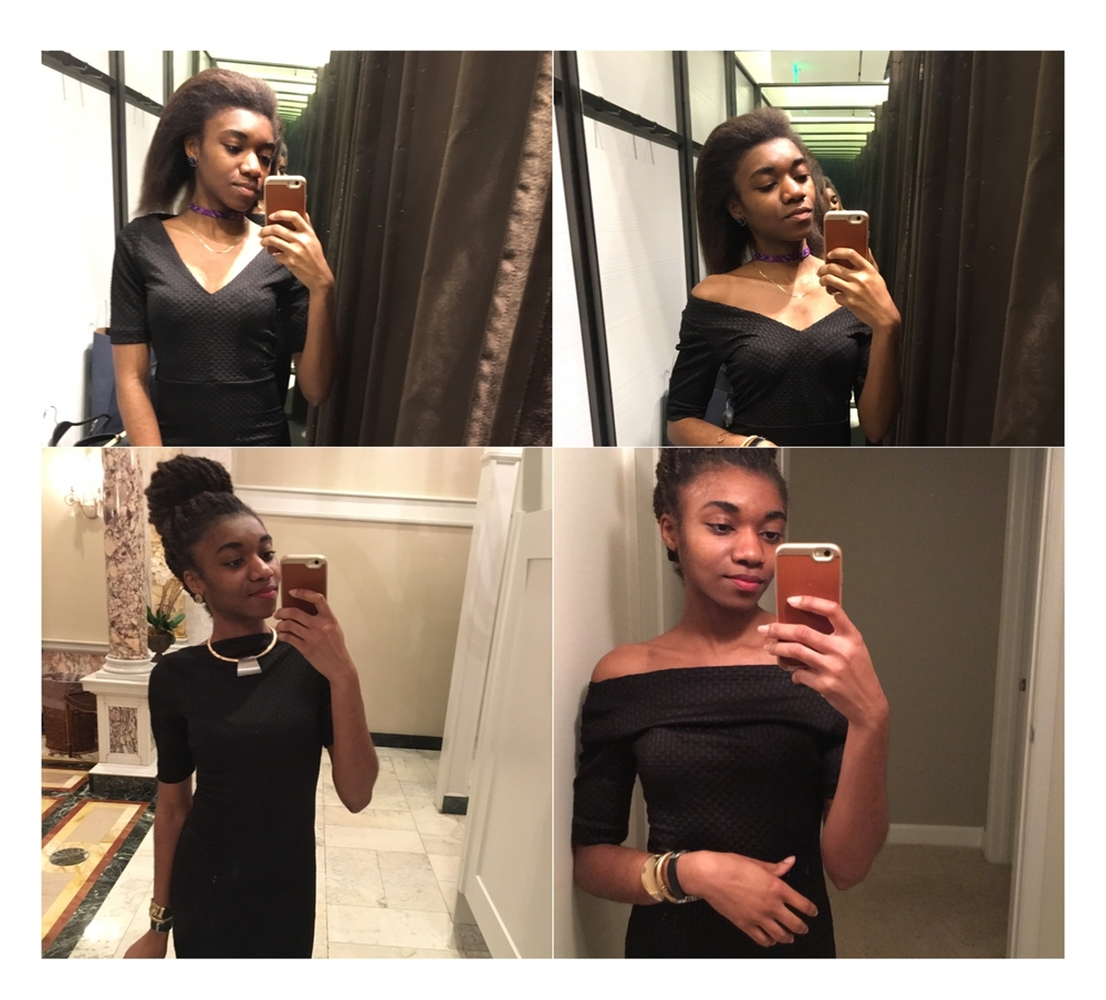 1 Black Dress, 4 Ways
