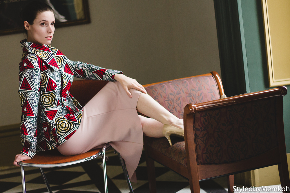 Model: Laura | Stylist: Memkoh | Photographer: Memkoh | Jacket: Y  etunde Sarumi