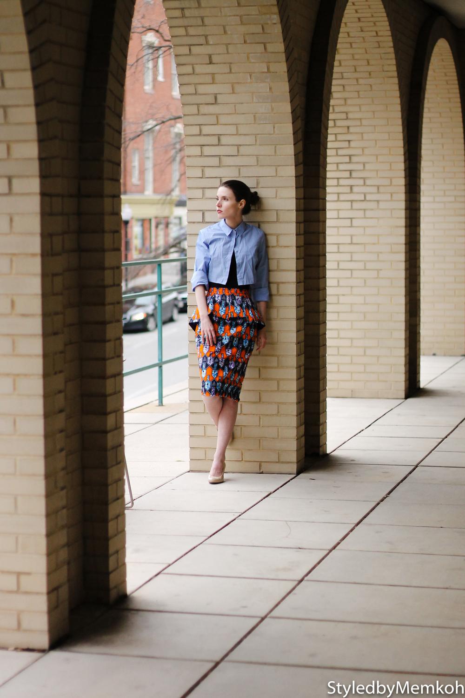 Model: Laura | Stylist: Memkoh | Photographer: Memkoh | Skirt: Y  etunde Sarumi