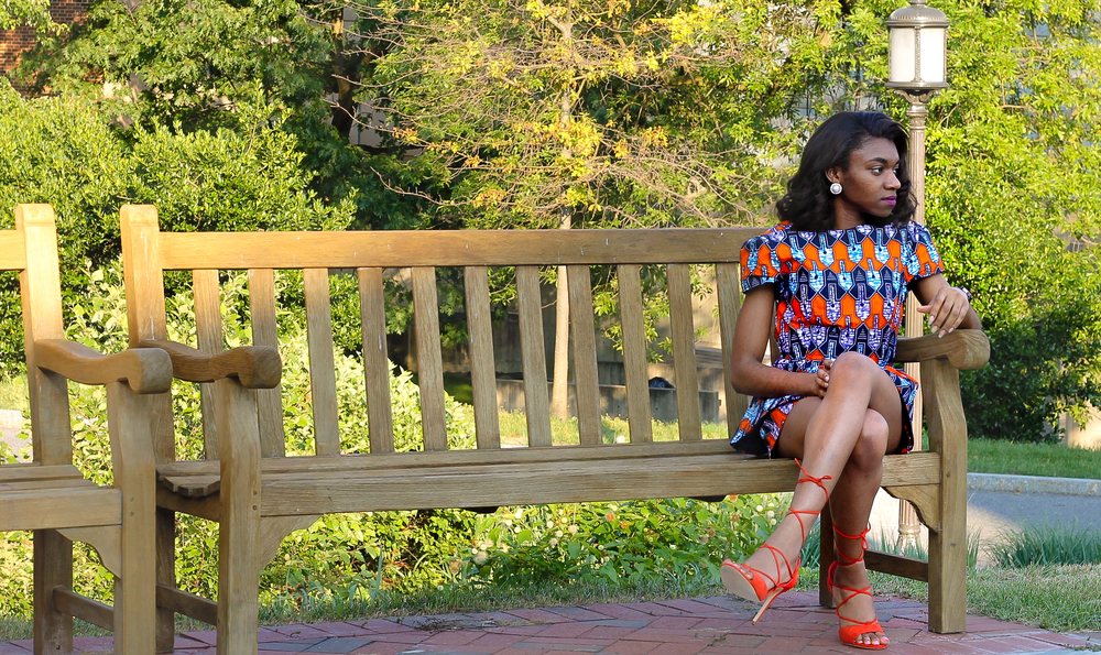 Top and shorts set by Yetunde Sarumi. You'll probably see my pictures there :)