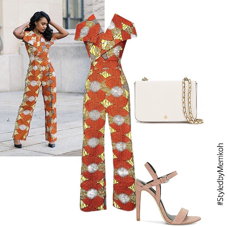 Jazzy Jumpsuit. Completely sold out. No alternatives...Even more proof of what I said about the construction of this piece. She gets it!