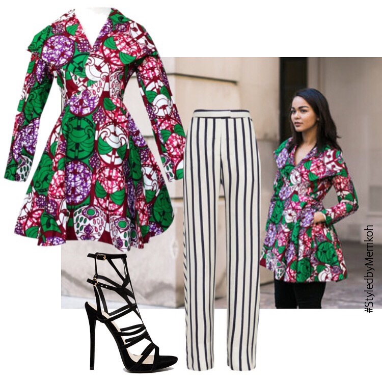 Resa Dress/Coat here.