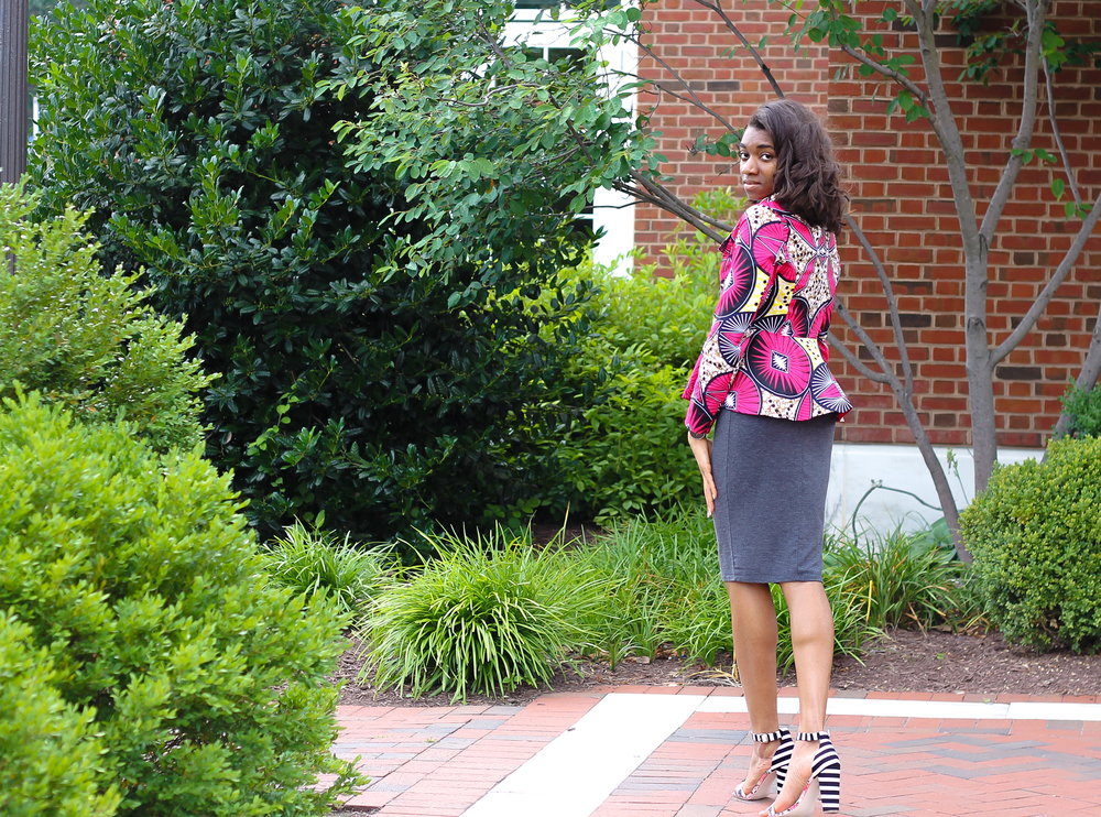 Original post here. African Print Jacket by Yetunde Sarumi. Shop here- shopys.co and save 10% with code: MEMKOH