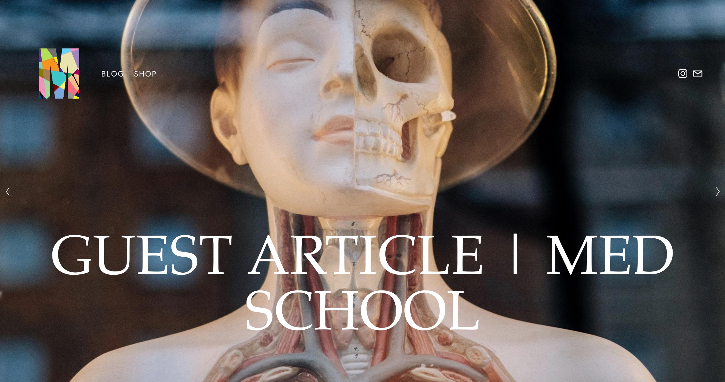Guest Article on Med School by Adesola Oje | www.memkoh.com