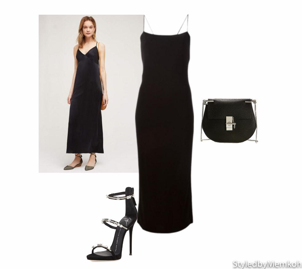 Dress: Alexander Wang|Shoes: Giuseppe Zanotti|Bag: Chloé Drew bag
