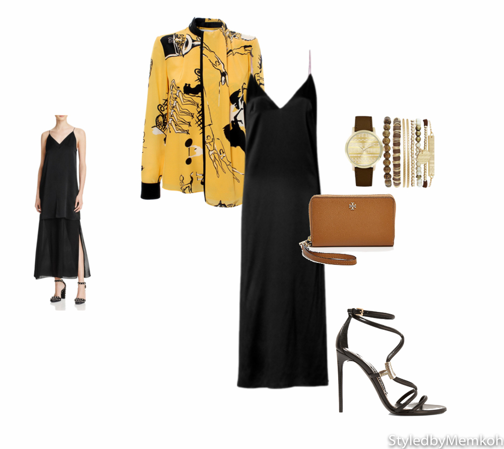 Dress:Rag & Bone| Jacket: Victoria Beckham | Heels: Tom Ford | Wristlet: Tory Burch | Watch/Bracelet set: Jessica Carlyle