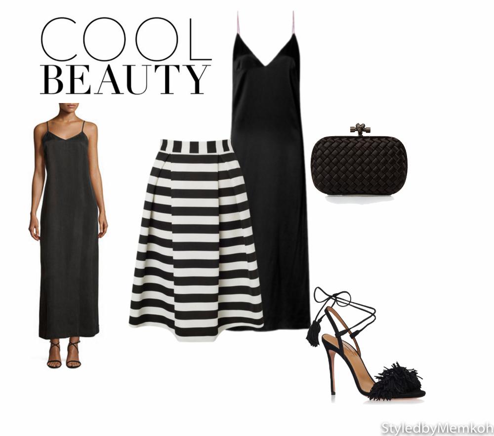 Dress:Rag & Bone| Skirt: Lipsy | Shoes: Aquazzura| Clutch: