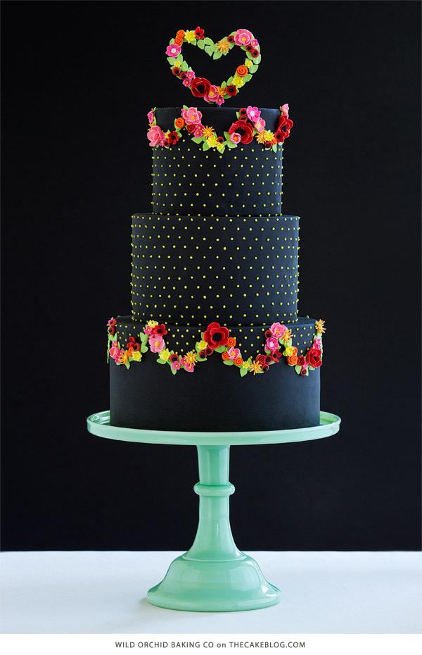Cake Erin Gardner of Wild Orchid Baking Company. Photographer Mark Davidson. As seen on The Cake Blog