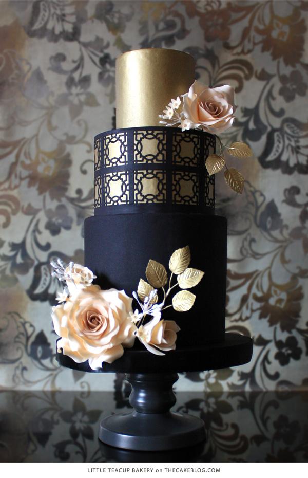 Cake Jennifer La of Little Tea Cup Bakery. As seen on The Cake Blog