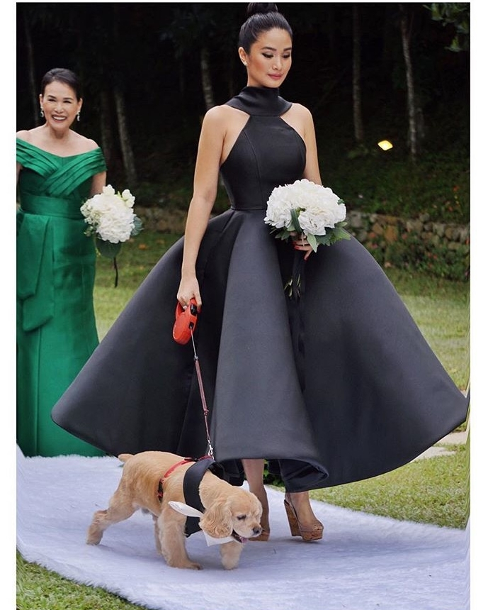 @iamhearte and a very cute ring bearer