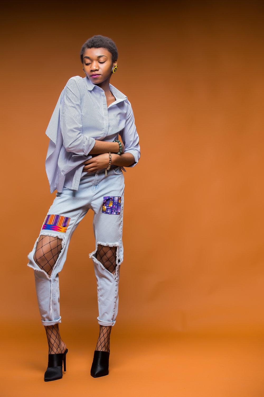 Denkara Jeans by Inidara Brand